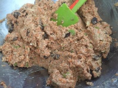 Muffin Mix for Gluten-free Vegan Carrot Cake Muffins