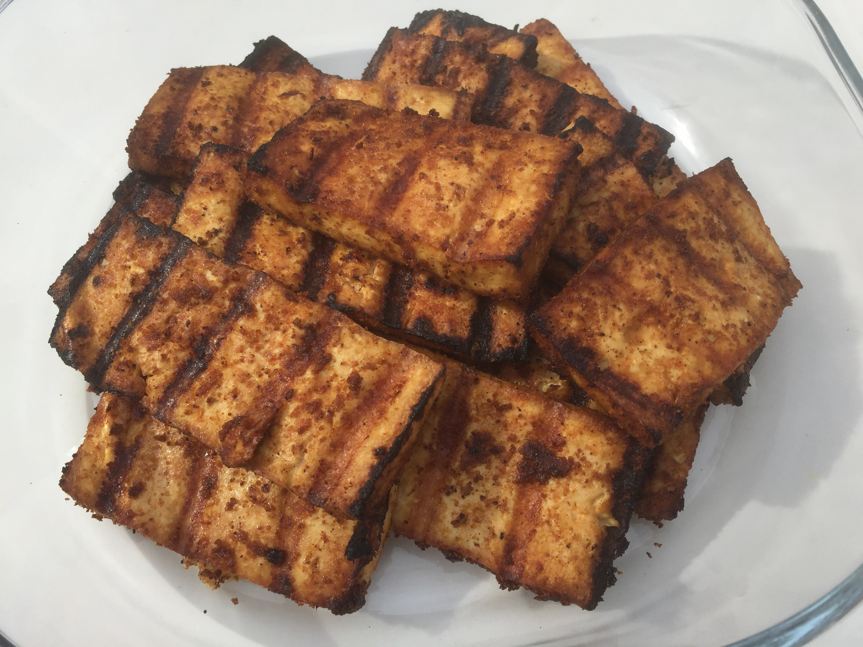 Grilled Tofu Tray