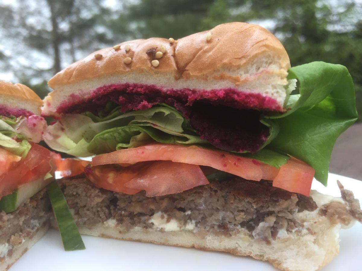 """""""Beef"""" Veggie Burger"""