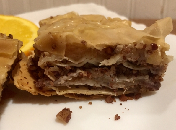 Pecan Apple Baklava, via Eat the Vegan Rainbow