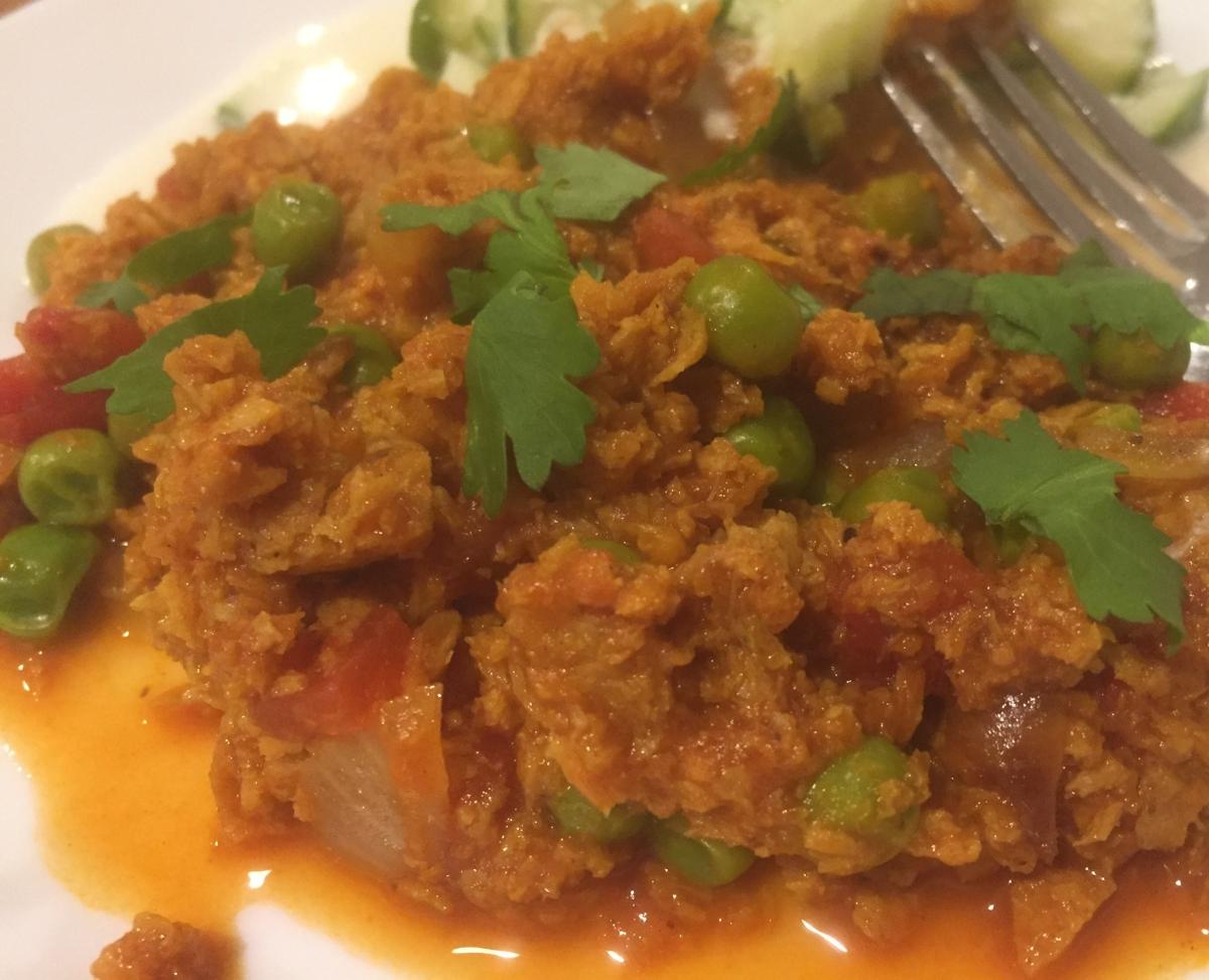 Meat-less Keema Matar