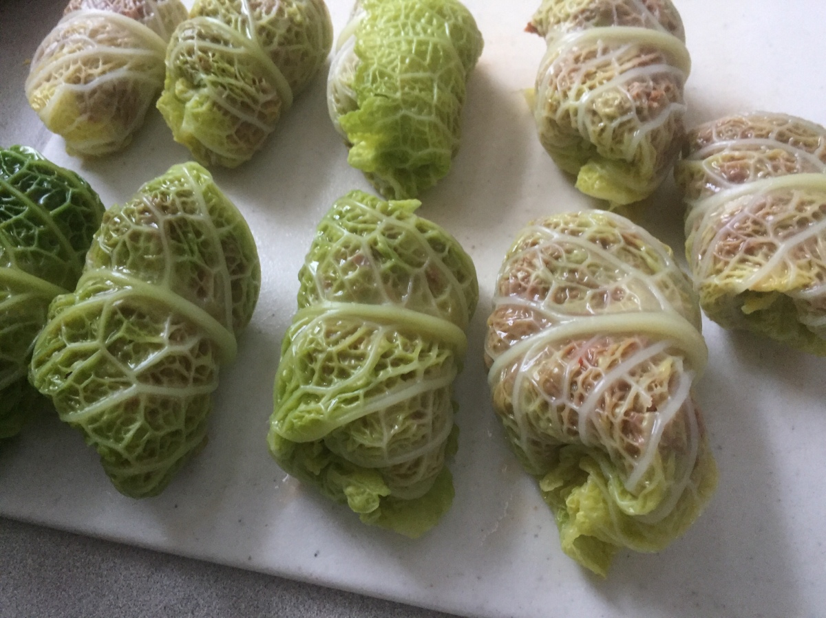 Stuffed Cabbage Leaves Eat The Vegan Rainbow