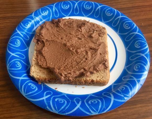 Homemade 1-minute Peanut Butter Nutella, via Eat the Vegan Rainbow