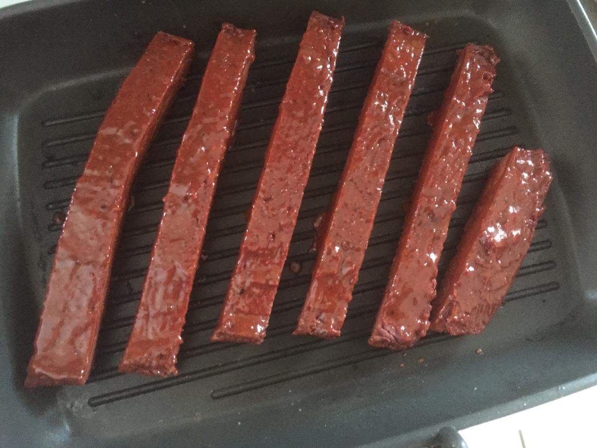 Gluten-free Vegan BBQ Ribs