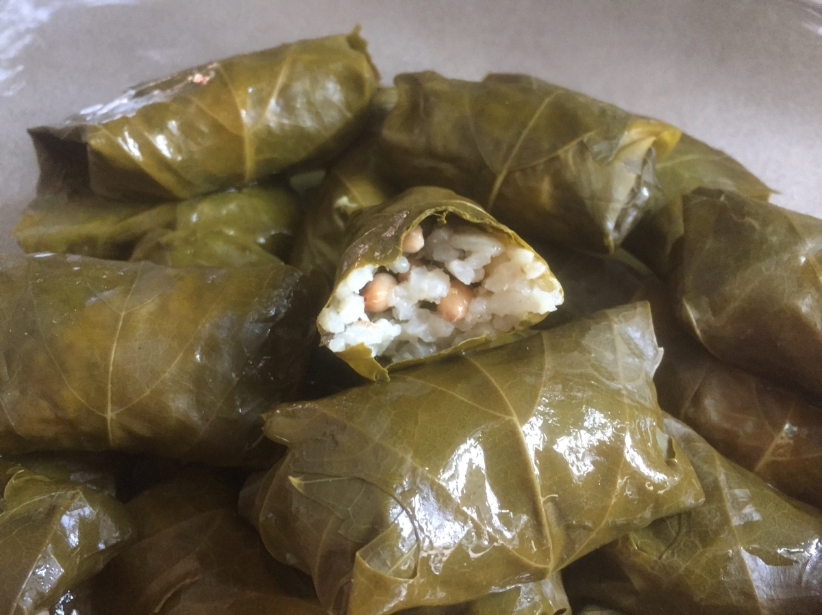 Dolmas - Stuffed Grape Leaves