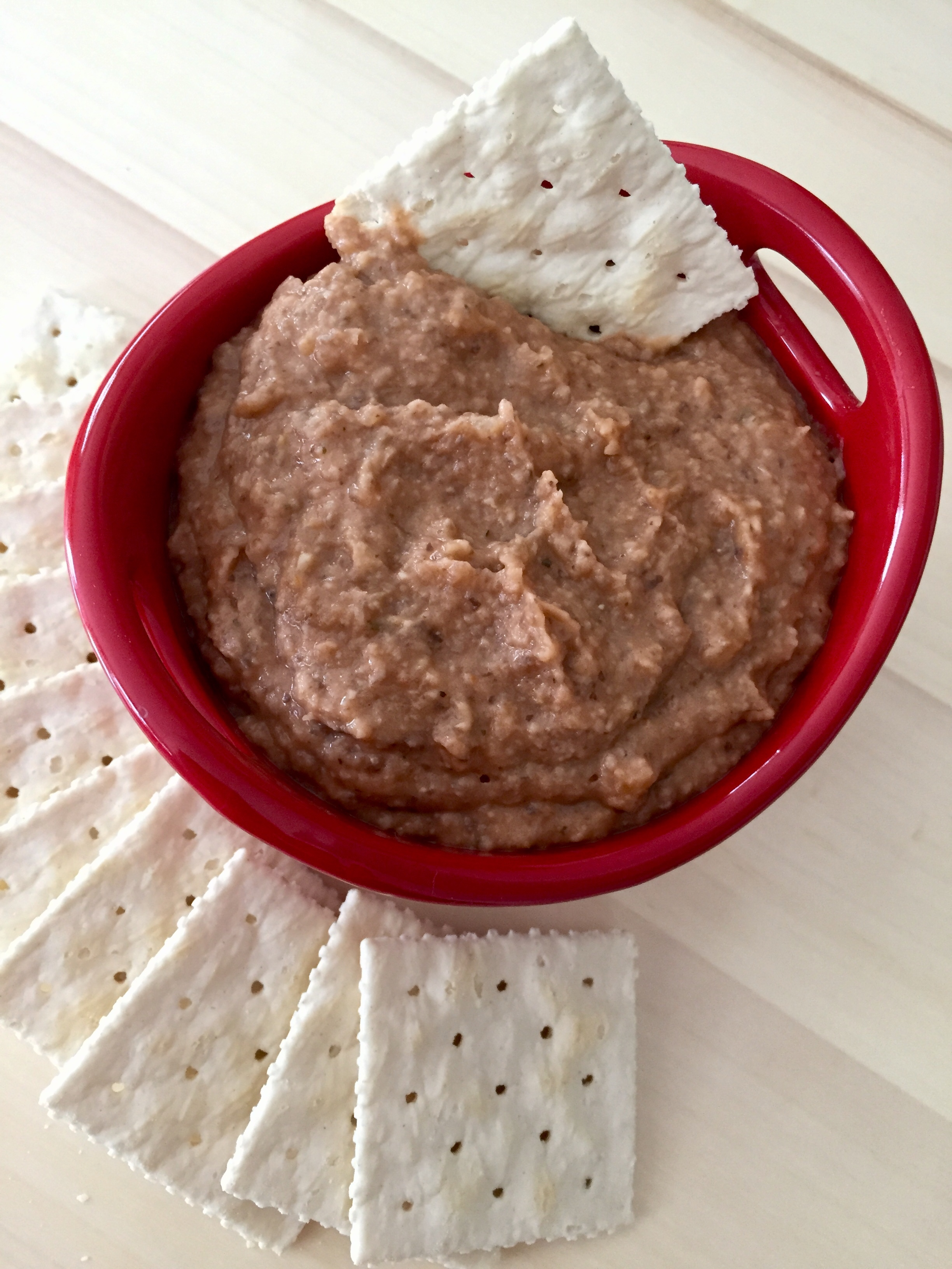 Nut-free Mushroom Pâté, via Eat the Vegan Rainbow