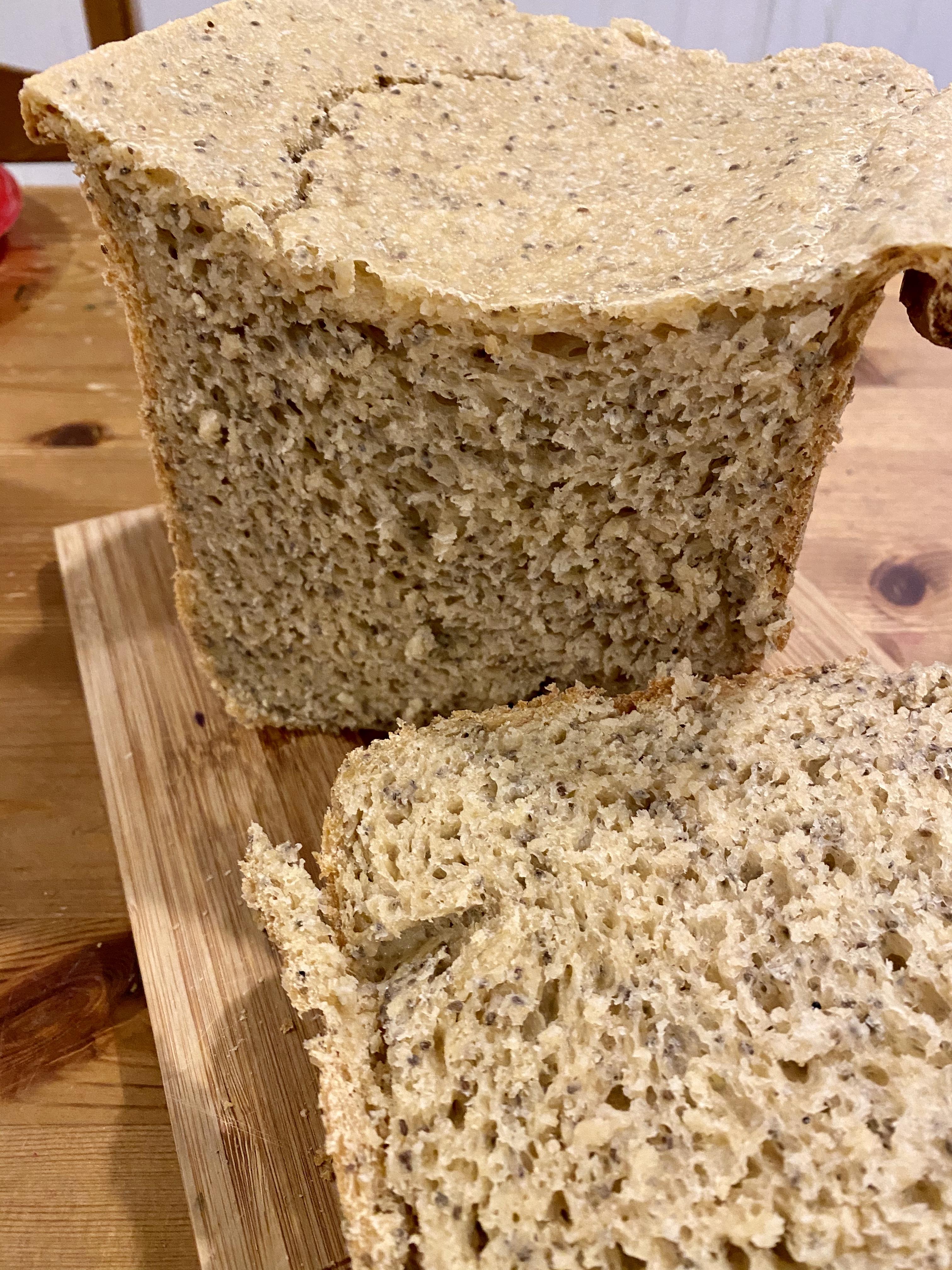 Chia Seed Bread (Bread Machine Recipe)