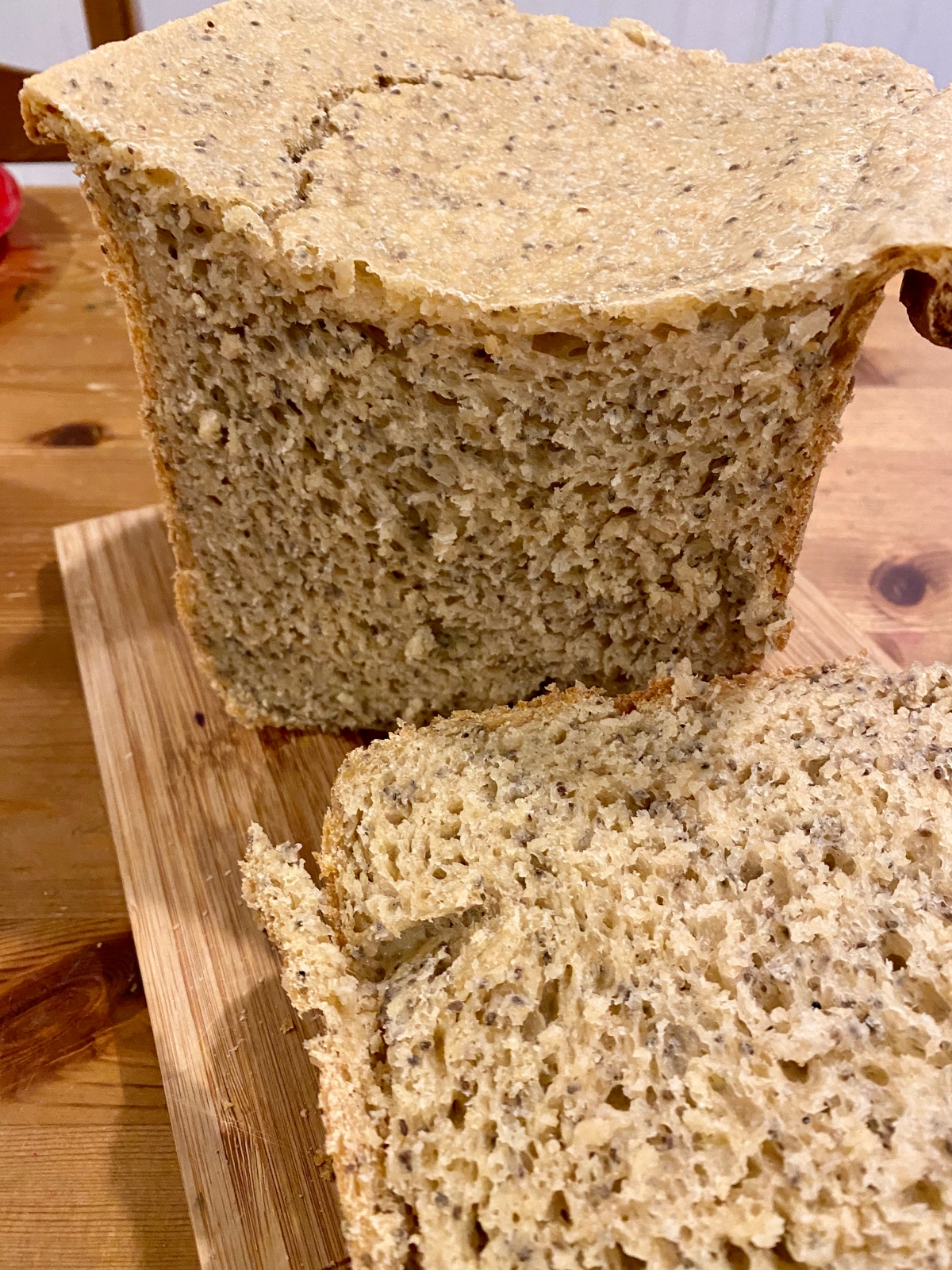Chia Seed Bread (Bread Machine Recipe)