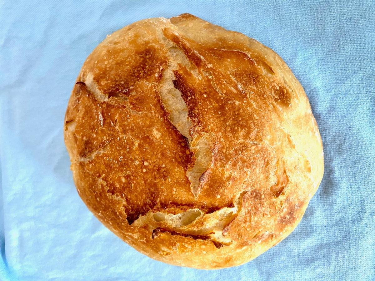 Quick No-Knead Artisan Bread