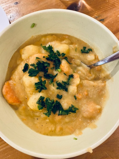 Curried Potato Stew, via Eat the Vegan Rainbow