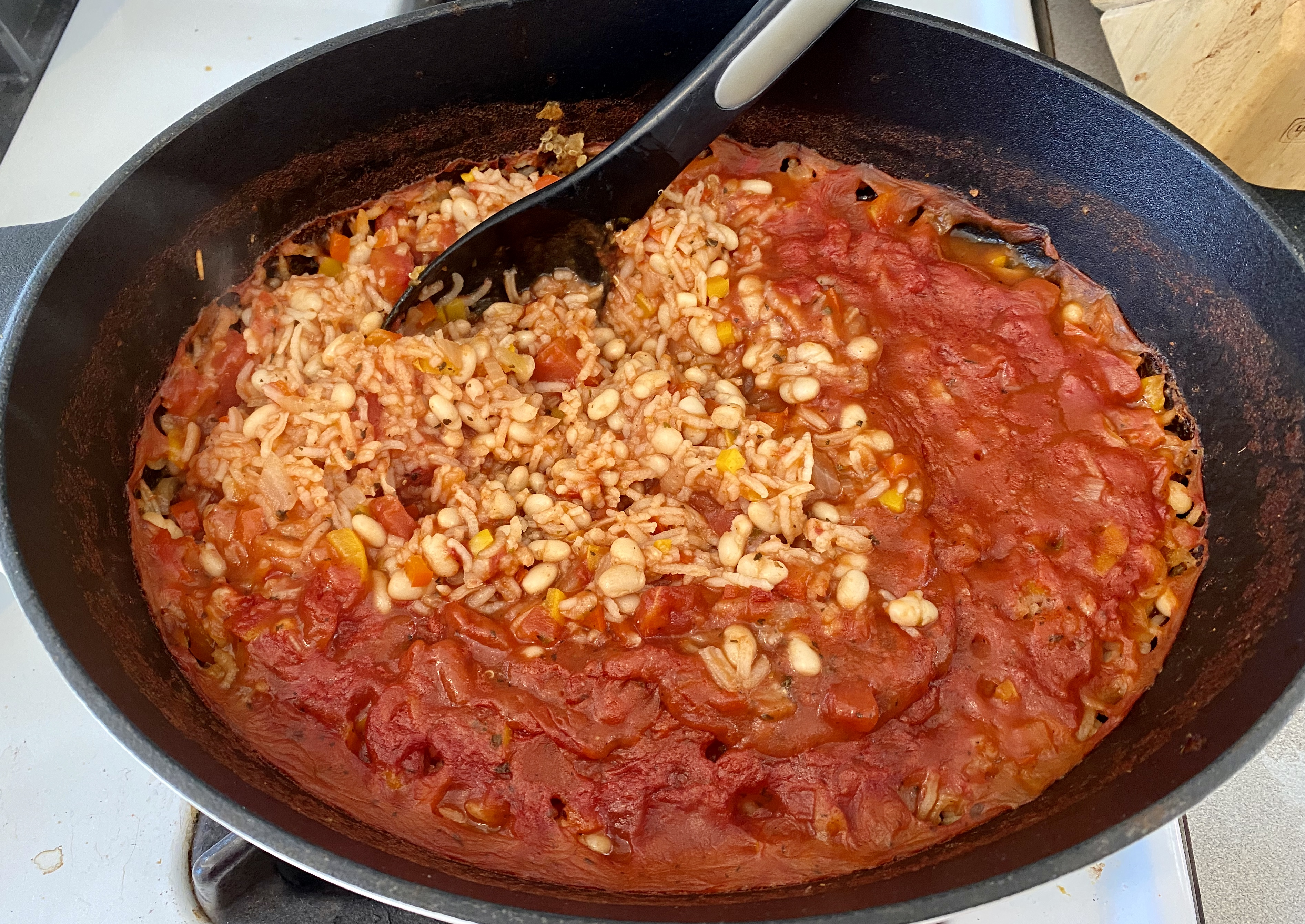 Italian Rice and Beans